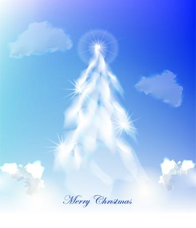 적란운: 구름으로 만든 크리스마스 트리