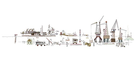 storehouse: illustrationof gran puerto