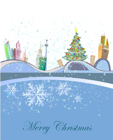 Christmas background Stock Vector - 10742770