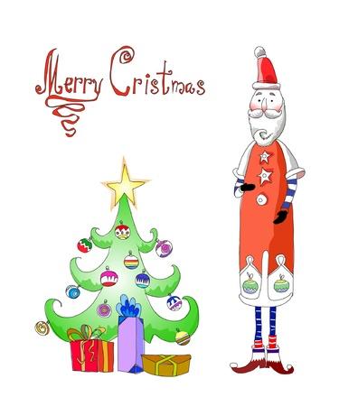 Christmas card Stock Vector - 10742718