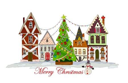 holiday cookies: Ciudad de Navidad