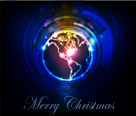 luminous: Christmas background