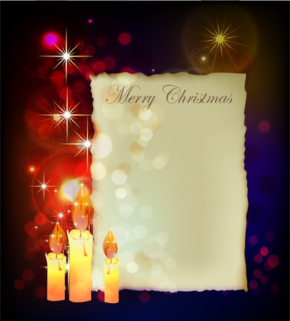 Christmas classic background Vector
