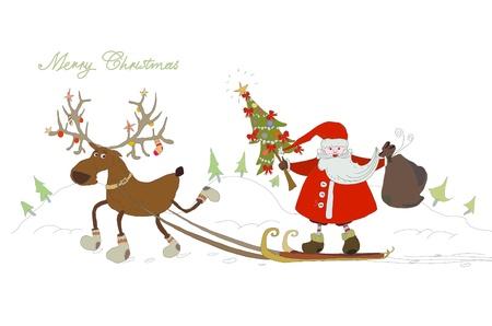 north pole: Christmas background