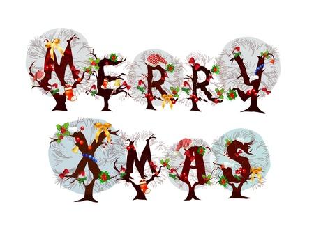 Merry Christmas Vector