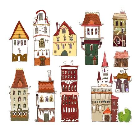 촉각 근: 설정 유럽 주택