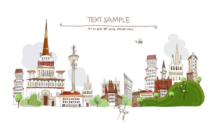 web design bridge: City view