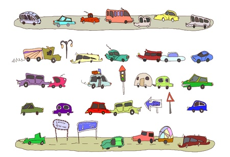 avenue: transport set