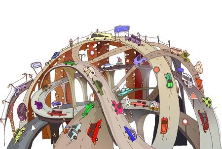 roads junctions