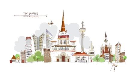 web design bridge: city banner