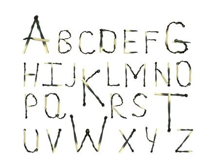 caja de cerillas: Alfabeto de los partidos