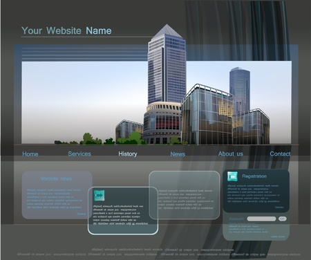 website template: web template