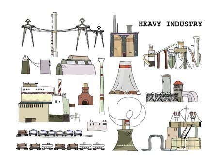 gusher: industrial icons