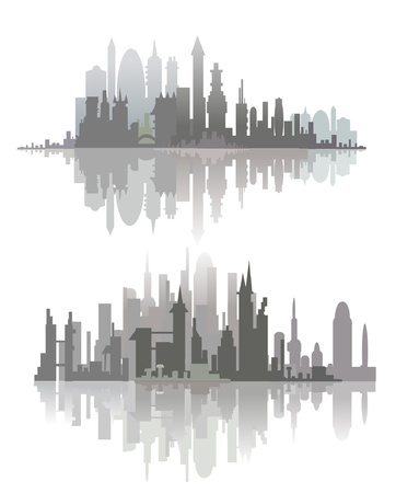 city line Stock Vector - 11875542