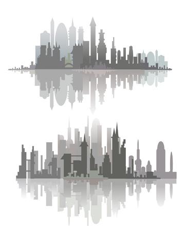 sea scape: city line