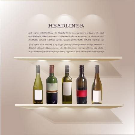гардероб: Вино шельфа
