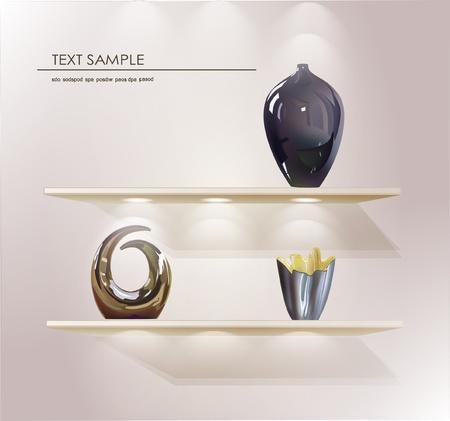 planken voor uw product (vazen)