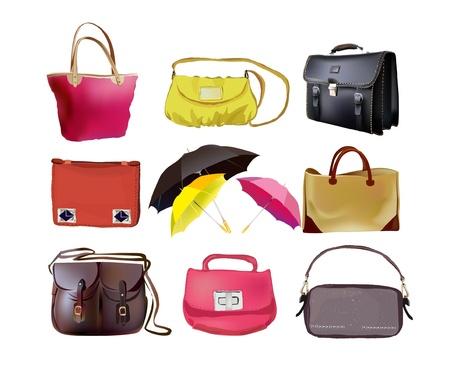 bags set Vector