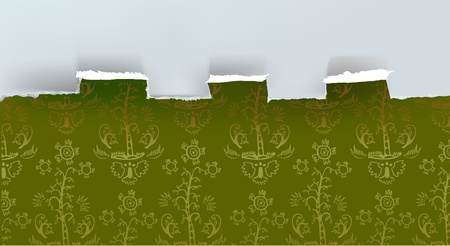 ripped paper background: ripped paper background