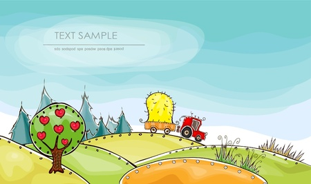 Harvest   Happy world  collection Vector