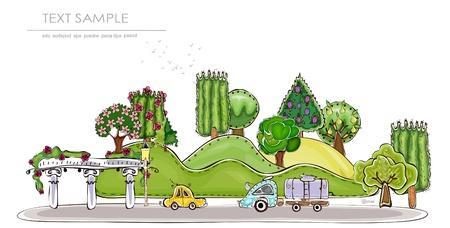 parque de la ciudad recogida mundo feliz