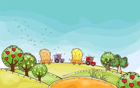 수확 시간 행복한 세계 컬렉션