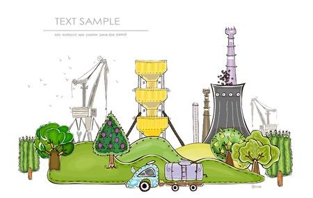 garden fountain: organic factory   Happy world  collection
