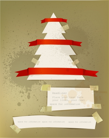 Christmas paper backgrounds Vector