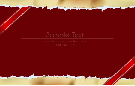 ripped paper design Vector