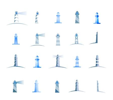 lighthouses set