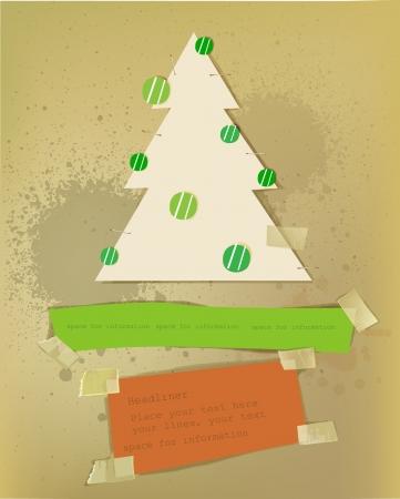 Christmas paper set Stock Vector - 15813044