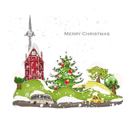 megalopolis: Christmas city