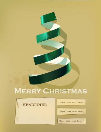 Christmas paper set Stock Vector - 16333461