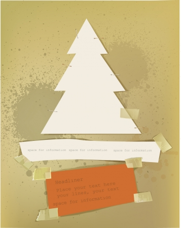 Christmas paper set Stock Vector - 16333472