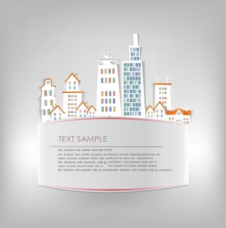 City background Stock Vector - 16493437
