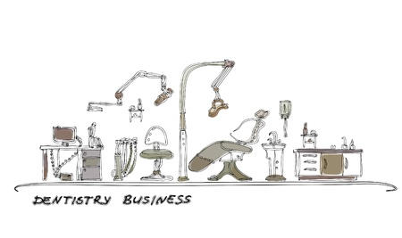 dantisrty cabinet Vector