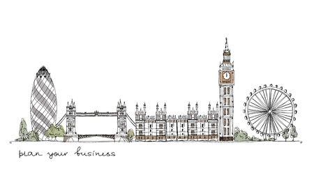 houses of parliament: London background