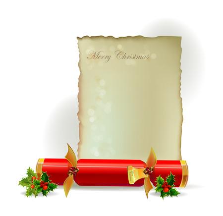christmas cracker: Christmas background