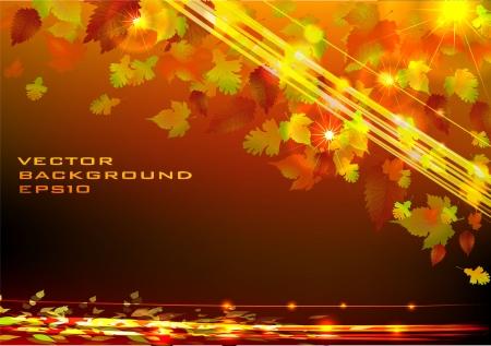 web desig: Golden Autumn