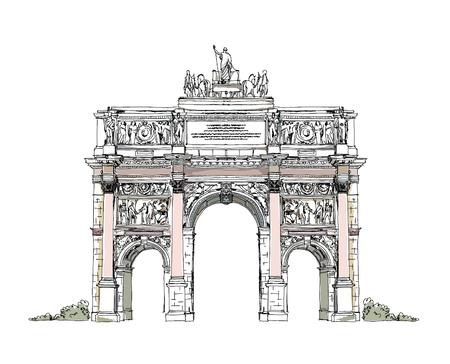 Paris, Triumphal arch