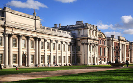 greenwich: Greenwich park, Royal Navy college, Greenwich university Editorial
