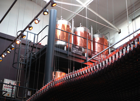 Beer production, London beer house