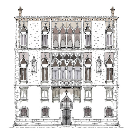 marco: Venice sketch collection, House