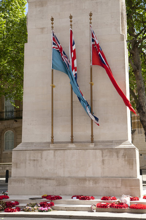 War monument London, Parliament street  photo