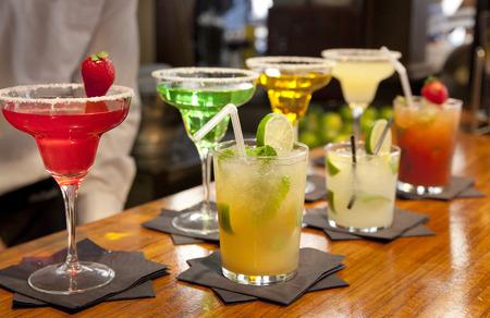 Ein Großes Glas Sangria, Eine Traditionelle Spanische Getränke ...