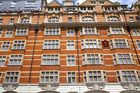 Mayfair town houses, centre of London photo