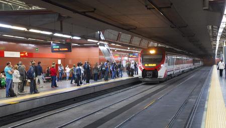 subway station: Madrid underground station