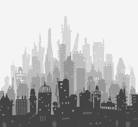 papeles oficina: De la ciudad de fondo