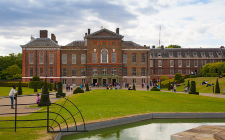 chelsea: LONDON, UK - AUGUST 16, 2014: Kensington palace and gardens Editorial