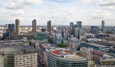 bank building: London city view Stock Photo